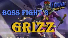 Sly Cooper 4 Thieves in Time Boss Fight 3 Grizz