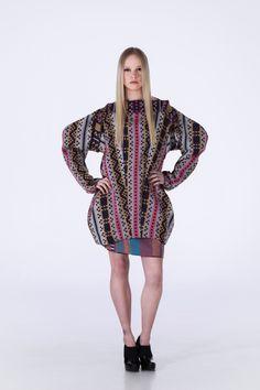 Anorak Jacket Boxy Skirt