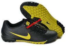 official photos 72938 1f84b Nike5 Bomba Finale Indoor Soccer Shoes - Black Chrome Yellow  64.88 Nike  Boots, Adidas Soccer