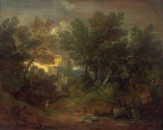 Woody Landscape with Building (c. 1768-71)