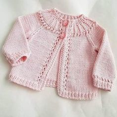 Sewing Patterns For Kids Baby Knitting Patterns Baby Patterns Sewing For Kids Newborn Crochet Crochet Baby Knit Crochet Baby Cardigan Knitting For Kids Baby Cardigan Knitting Pattern, Knitted Baby Cardigan, Knit Baby Sweaters, Knitted Baby Clothes, Knitted Coat, Girls Sweaters, Baby Knitting Patterns, Baby Patterns, Vogue Knitting
