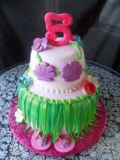 hula cake by Royalty_Cakes, via Flickr