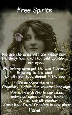 I am and always will be of an Ancestral Spirit - that cherishes freedom - to finally just be me... ❄