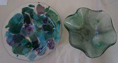 New Pot Melt & Tie Dye bowls from AMusinGlass in Sedona, AZ