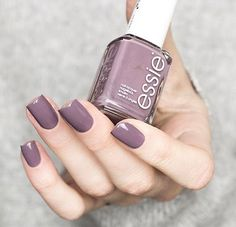 This 'merino cool' mani is the chicest accessory this winter! Shop this sensuous autumn mulberry nail polish for a cutting edge glamour look here: Love Nails, How To Do Nails, Fun Nails, Pretty Nails, Diy Nagellack, Fall Nail Colors, Pretty Nail Colors, Manicure E Pedicure, Nagel Gel