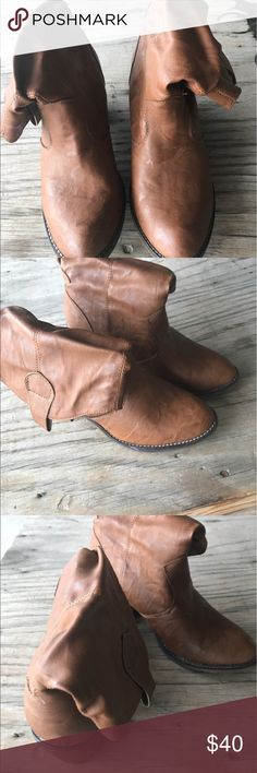 Cowboy boots BROWN COWBOY BOOTS. WORN ONCE. Xappeal Shoes Ankle Boots & Booties