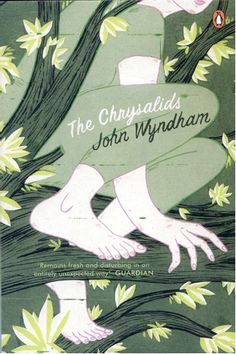 Book Cover: The Chrysalids by John Wyndham - illustration by Brian Cronin