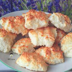 Kokosanki na białkach, bez mąki. – BLW od kuchni. Rozwój dziecka przez jedzenie. Potato Salad, Cauliflower, Spaghetti, Potatoes, Cheese, Vegetables, Ethnic Recipes, Food, Cauliflowers