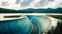 Huia Dam, New Zealand
