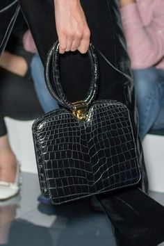 Bag from  armani haute couture fashion show fall/winter 2017 at paris