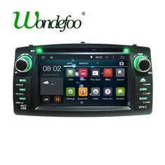 Android Car DVD Player Touch Screen WiFi GPS Radio Navigation 2G RAM / 16G ROM #AndroidCarChina