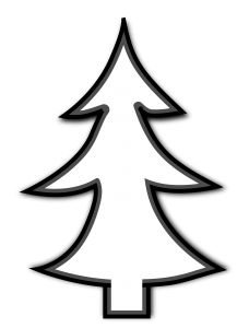 Tree Clipart Black And White 1000 Exclusive Cloud Clipart Christmas Tree Clipart Tree Clipart Tree Outline
