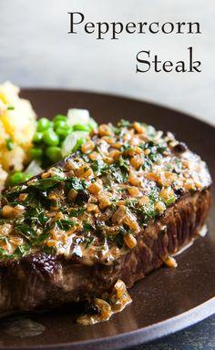 peppercorn steak classic peppercorn steak no need to go to a steak ...