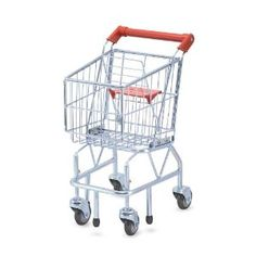 My daughter loves this cart. I love the little seat in front where her baby doll can sit.
