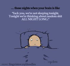 More galleries of no sleep funny quotes. Funny Cartoons, Funny Comics, Cartoon Memes, Insomnia Funny, Funny Cute, Hilarious, Tired Funny, Tuesday Humor, Funny Doodles
