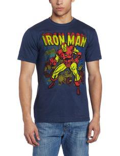Marvel Men's Iron Man Panes T-Shirt - http://geekz.technology/marvel-mens-iron-man-panes-t-shirt