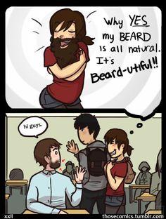 Beard by hPolawBear.deviantart.com on @deviantART  :{ )