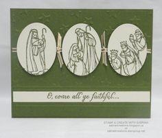 Stamp & Create With Sabrina: All Ye Faithful #2