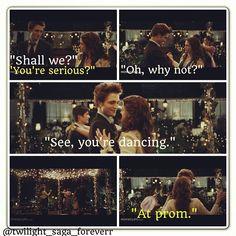 Dancing Prom scene