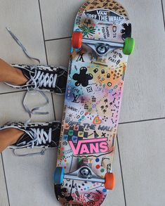 The Effective Pictures We Offer You About skater girl outfits party A quality picture can tell you m Painted Skateboard, Skateboard Deck Art, Skateboard Design, Skateboard Girl, Penny Skateboard, Stick N Poke Tattoo, Stick And Poke, Skate Wallpaper, Draw Character