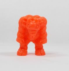 Monster In My Pocket - Series 1 - 4 Behemoth - Neon Red - Mini Figure