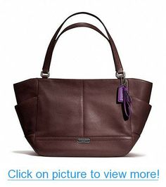 Coach Park Fig Leather Cary All Tote Bag F23284 966ace93e82fb