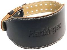 The Harbinger Padded Leather Weight Lifting Belt provides even more coverage for larger bodies and increased stability. Backed with split leather, these padded leather weightlifting belts combine support with lasting quality and durability. Best Weight Lifting Belt, Weight Lifting Gloves, Strength Training Equipment, No Equipment Workout, Fitness Equipment, Weight Rack, Knee Wraps, Best Home Gym Equipment, Weight Lifting
