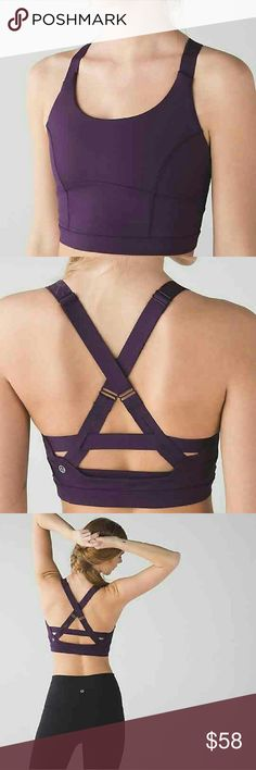 NWT Lululemon Pure Practice Bra SZ 8 Offering up a NWT Lululemon Pure Practice Bra in a size 8 in Deep Zinfandel. lululemon athletica Intimates & Sleepwear Bras