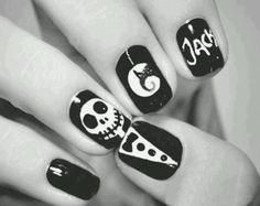 Adoro esta decoracion de uñas
