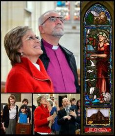 One of the world's leading sopranos was all smiles yesterday as she viewed her likeness in a stained-glass window at St Paul's Cathedral, Dunedin. Kiri Te Kanawa, All Smiles, Recital, The St, Bing Images, Opera, Cathedral, Cherubs, Couple Photos