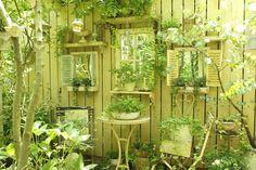 Perfect fence decor