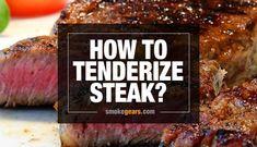 How to Tenderize Steak? 6 Easy Tips and Techniques Wie Steak zart machen? Steak Rubs, Beef Steak, Sirlion Steak, Steak Tenderizer, Beef Recipes, Cooking Recipes, Cooking Hacks, Cheap Steak, Steak Dishes