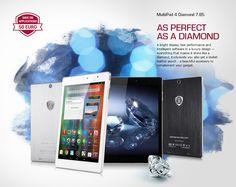 AS PERFECT AS A #DIAMOND. #PRESTIGIO MultiPad 4 Diamond 7.85 3G