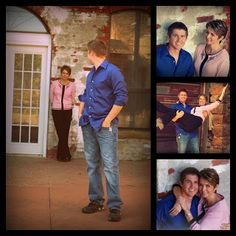 Living the Good Life: A Special Senior Photo Shoot....Mom & Son