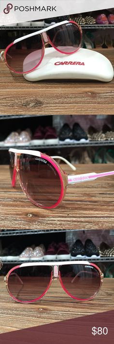 da75818bf5d Hot Pink Carrera Sunglasses Hot Pink Carrera Sunglasses for the girl who  loves to stand out