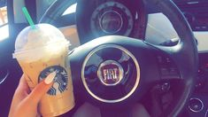 Image shared by Synthia. Find images and videos about summer, coffee and starbucks on We Heart It - the app to get lost in what you love. Starbucks, Fiat 500c, My Goals, Life Is Like, Image Sharing, Vintage Cars, Dream Cars, Find Image, We Heart It