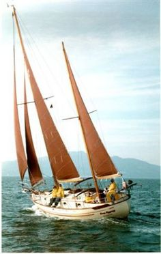 Double ended cutter ketch... simply dreamy!
