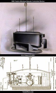 Tesla's remote control devise- the first ever- changed the world in so many ways.