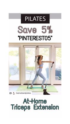 Standing Ab Exercises, Standing Abs, Bar Workout, Triceps Workout, Fitness Abs, Health Fitness, Pilates Workout Videos, Portable Bar, Fitness Inspiration Body