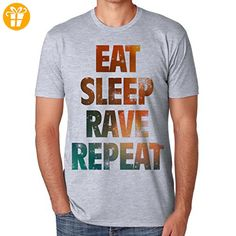 Eat Sleep Rave Repeat XXL Herren T-Shirt (*Partner-Link)