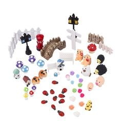 eBoot 56 Pieces Miniature Ornament for DIY Fairy Garden Dollhouse Decor * Startling review available here  : home diy yard