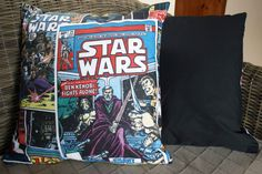 Star Wars Comic Cushion Cover от BlossomvioletCrafts на Etsy