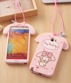 Cute 3D Cartoon My Melody Phone Case Soft Silicone Cover Coque for Samsung Galaxy 2016 A5 A510 A7 A710 S6 S7 S6 edge S7 edge-in Phone Bags & Cases from Phones & Telecommunications on Aliexpress.com   Alibaba Group