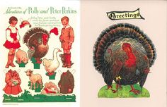 Polly and Peter Paper Thanksgiving