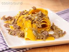 Pappardelle carciofi e salsiccia: Ricette di Cookaround | Cookaround