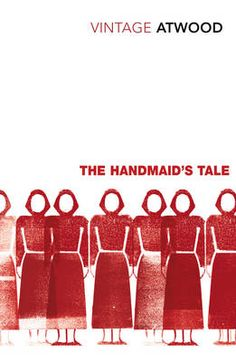 """""""The Handmaid's Tale"""" by Margaret Atwood. Cover illustration by Patrick Thomas"""
