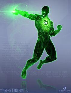 Green Lantern by Ogi Grujic