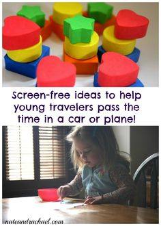 Frugal, screen-free ideas to help the youngest travelers during travel. I'll need this for our next trip!