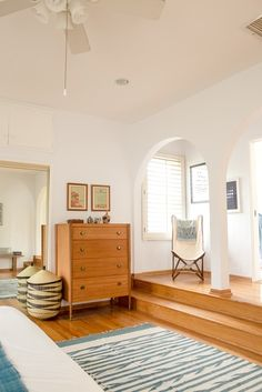 Name: Sheeva Sairafi Location: Los Angeles, California Size: 3 bedroom/2 bathroom Years lived in: Owned 1 year Sheeva Sairafi's bright and colorful Spanish Colonial style home reflects her inspiring vision for making a global impact. In 2014 Sheeva left a coveted corporate retail position to start her own socially conscious global home decor company, Local + Lejos. On a budget and knee-deep in her new entrepreneurial journey, the Boston native has somehow managed to piece together a cohesive…