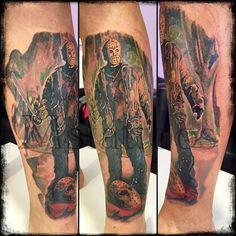 Tattoo Jason em progresso...